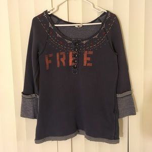 FREE PEOPLE BOHEMIAN SWEATER
